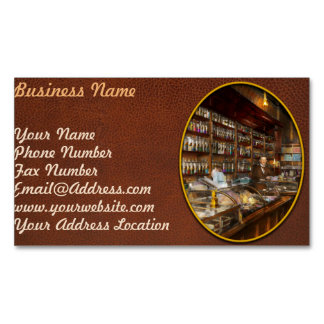 Apothecary - A vist to the chemist 1913 Business Card Magnet