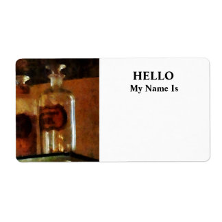 Apothecary Bottles Label