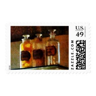 Apothecary Bottles Postage