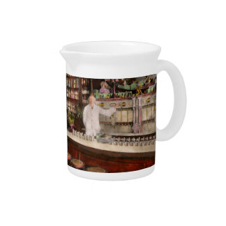 Apothecary - Cocke drugs apothecary 1895 Beverage Pitcher