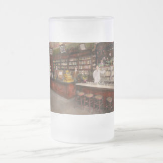 Apothecary - Cocke drugs apothecary 1895 Frosted Glass Beer Mug