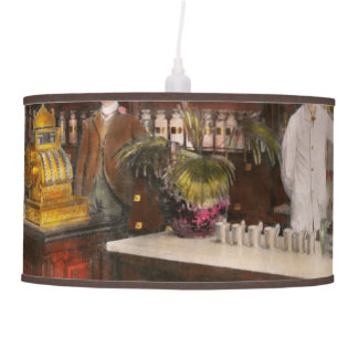 Apothecary - Cocke drugs apothecary 1895 Hanging Lamp
