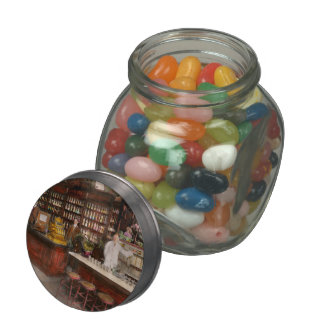 Apothecary - Cocke drugs apothecary 1895 Jelly Belly Candy Jar