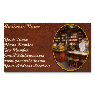 Apothecary - Cocke drugs apothecary 1895 Magnetic Business Card