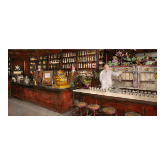 Apothecary - Cocke drugs apothecary 1895 Rack Card