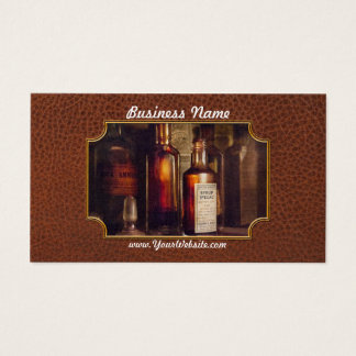 Apothecary - Domestic Remedies  Business Card