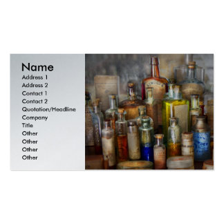 Apothecary - For all your Aches Pains Business Card
