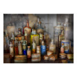 Apothecary - For all your Aches & Pains Poster