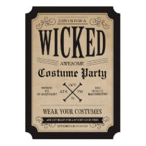 Apothecary Halloween Party Invite