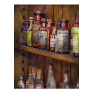 Apothecary - Inside the Medicine Cabinet Custom Flyer