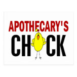 Apothecary's Chick Post Card