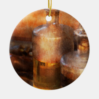 Apothecary - Special Medicine  Double-Sided Ceramic Round Christmas Ornament