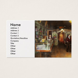Apothecary - Spell books and Potions 1913 Business Card