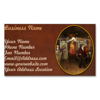 Apothecary - Spell books and Potions 1913 Magnetic Business Card