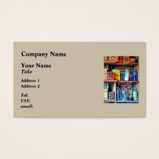 Apothecary Stockroom Business Card