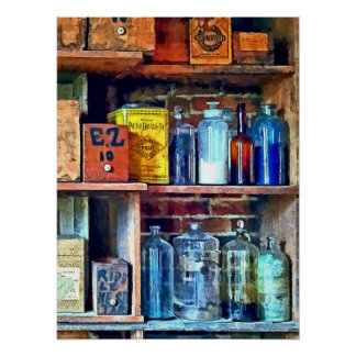 Apothecary Stockroom Poster