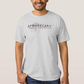 Apothecary Travel White T-Shirt