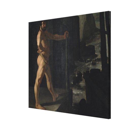 Apotheosis of Delacroix Canvas Print