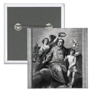 Apotheosis of Handel, 1787 Pinback Buttons