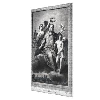 Apotheosis of Handel, 1787 Canvas Print