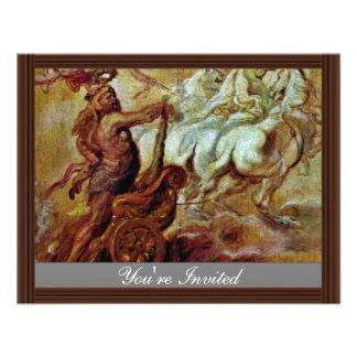 Apotheosis Of Hercules By Rubens Peter Paul Invite