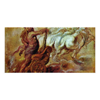 Apotheosis Of Hercules By Rubens Peter Paul Picture Card