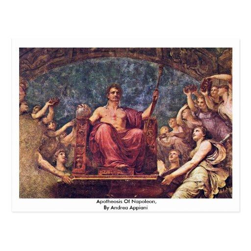 Apotheosis Of Napoleon, By Andrea Appiani Postcard