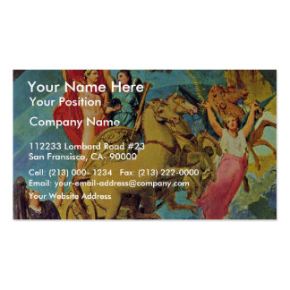 Apotheosis Of Napoleon I. By Ingres Jean Auguste D Business Card