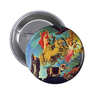 Apotheosis Of Napoleon I. By Ingres Jean Auguste D Pinback Buttons