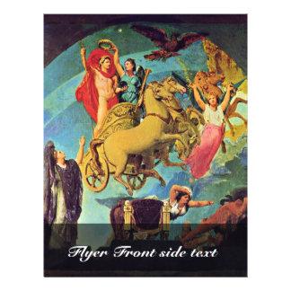 "Apotheosis Of Napoleon I. By Ingres Jean Auguste D 8.5"" X 11"" Flyer"