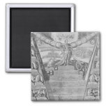 Apotheosis of Peter the Great 2 Inch Square Magnet
