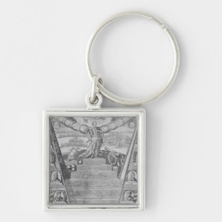 Apotheosis of Peter the Great Keychain
