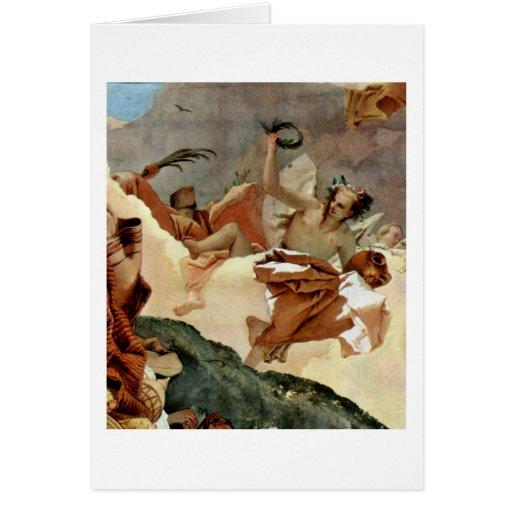 Apotheosis Of Pisani Family By Giovanni Tiepolo Card