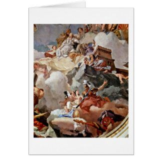 Apotheosis Of Royal Family By Giovanni Tiepolo Greeting Cards