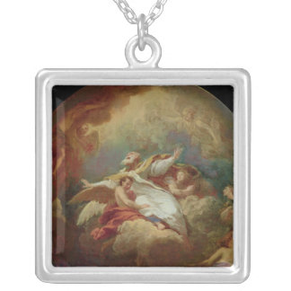 Apotheosis of St. Ambrose Personalized Necklace
