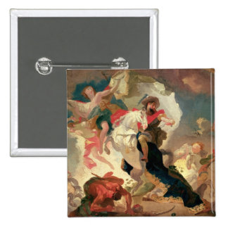 Apotheosis of St. James the Greater 2 Inch Square Button