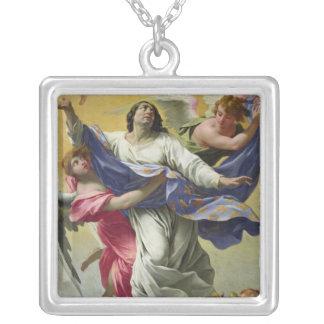 Apotheosis of St. Louis, 1639-42 Square Pendant Necklace