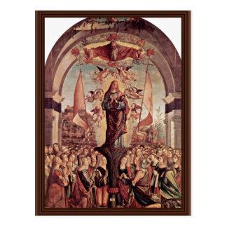 Apotheosis Of St. Ursula By Carpaccio Vittore Postcard