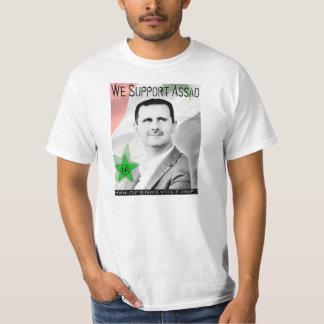 ¡Apoyamos a Bashar Assad! Playera