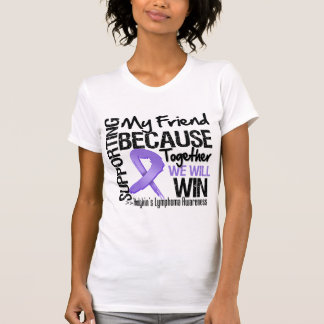 Apoyando a mi amigo - el linfoma de Hodgkin T Shirt