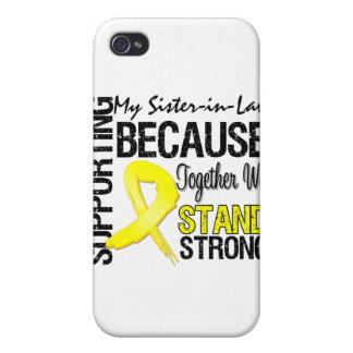 Apoyando a mi cuñada nos colocamos fuertes - Mili iPhone 4/4S Fundas