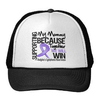 Apoyando a mi mamá - el linfoma de Hodgkin Gorras
