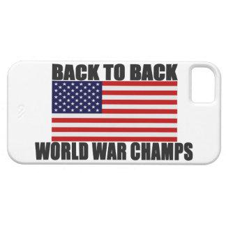 Apoye 2 el caso trasero del iPhone 5 de la bandera iPhone 5 Fundas