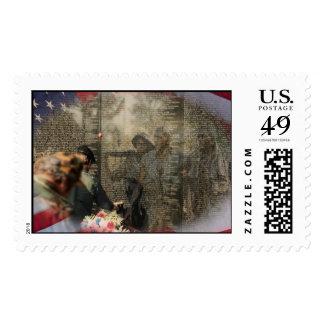 Apoye a las tropas timbres postales