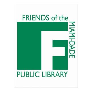 Apoye a los amigos de la biblioteca de Miami-Dade Postal