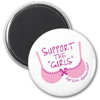 Apoye a los chicas imanes de nevera