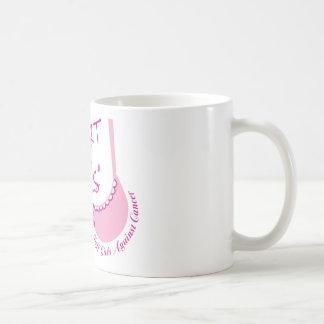 Apoye a los chicas taza de café