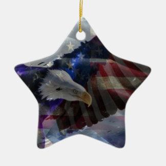 Apoye a nuestras tropas ornamento de navidad