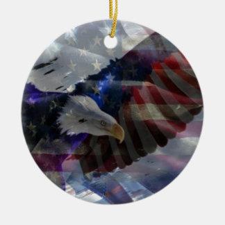 Apoye a nuestras tropas ornaments para arbol de navidad