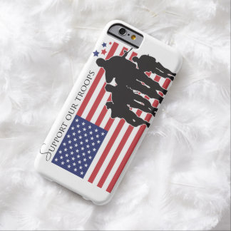 Apoye a nuestras tropas funda barely there iPhone 6